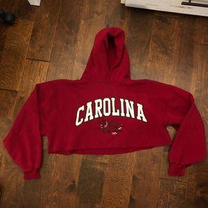U of SC Cropped Hoodie